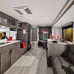 Shasta Travel Trailer Interior