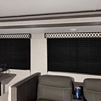 Black out pleated shades in